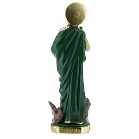 St. Martha statue plaster 30 cm hand painted Arte Barsanti s7