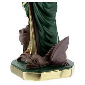 Santa Marta estatua yeso 30 cm pintada a mano Arte Barsanti s5