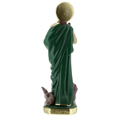 Santa Marta estatua yeso 30 cm pintada a mano Arte Barsanti 7