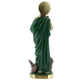 St Martha statue, 30 cm hand painted plaster Arte Barsanti s7