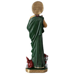 Saint Martha 16 in hand-painted plaster statue Arte Barsanti s5