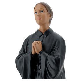 Sainte Gemma Galgani 30 cm statue plâtre Arte Barsanti s2