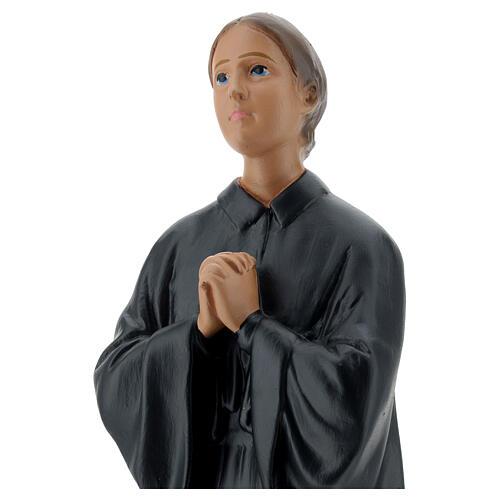 Santa Gemma Galgani 30 cm statua gesso Arte Barsanti 2