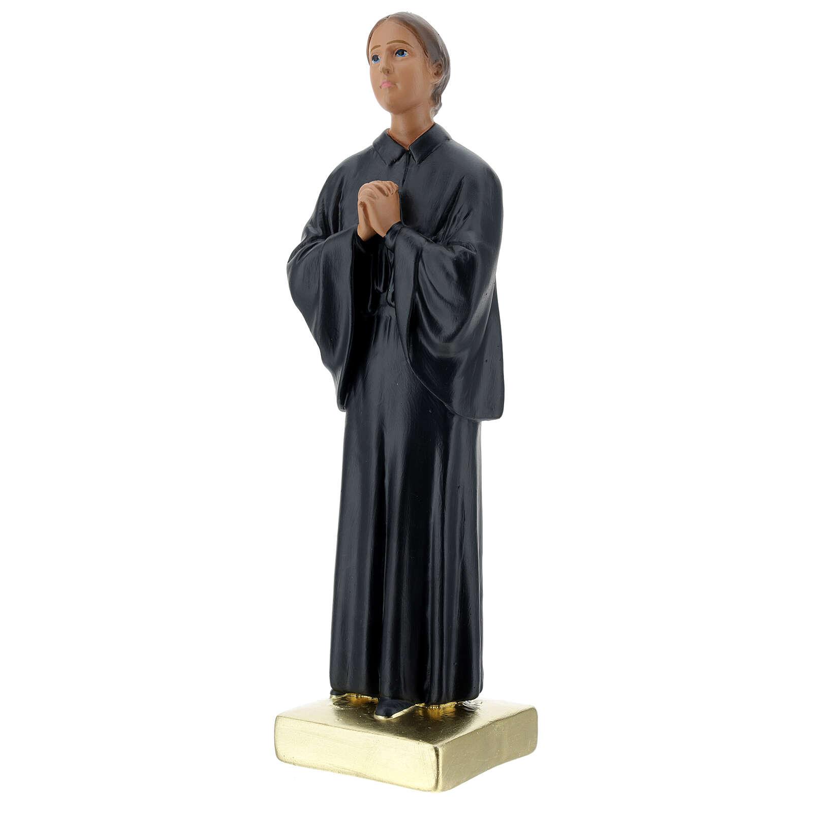 St Gemma Galgani statue, 30 cm in plaster Arte Barsanti 4