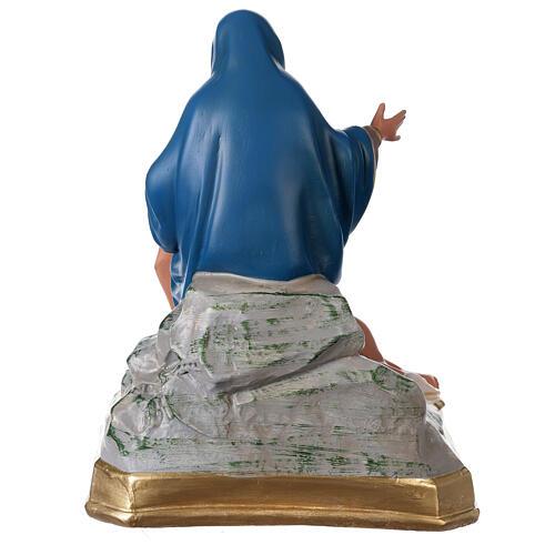 Plaster statue Pietà 12x12 in hand-painted Arte Barsanti 5