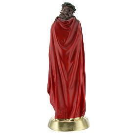 Ecce Homo imagem gesso 30 cm pintada à mão Arte Barsanti s7