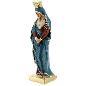 Notre-Dame sept épées statue plâtre 20 cm Arte Barsanti s2