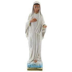 Madonna Medjugorje statua gesso 20 cm Arte Barsanti s1