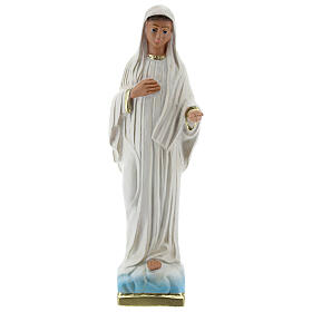Our Lady of Medjugorje statue, 20 cm plaster Arte Barsanti s1
