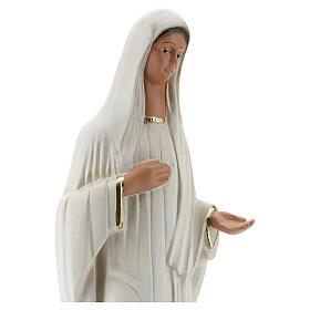 Our Lady of Medjugorje 37 cm plaster statue hand painted Arte Barsanti s2