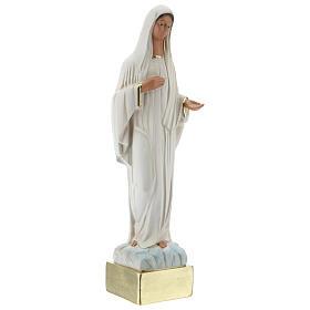 Virgen Medjugorje 37 cm estatua yeso pintada a mano Barsanti s4