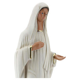 Medjugorje statue, 37 cm hand painted plaster Barsanti s2