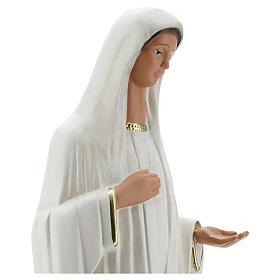 Notre-Dame de Medjugorje statue plâtre 44 cm peinte main Barsanti s4