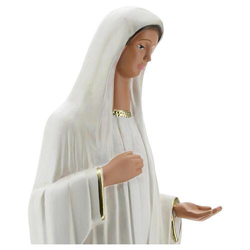 Notre-Dame de Medjugorje statue plâtre 44 cm peinte main Barsanti 4