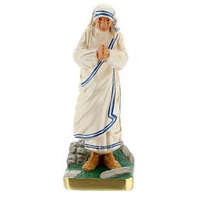Mother Teresa hand painted plaster statue Arte Barsanti 20 cm s1