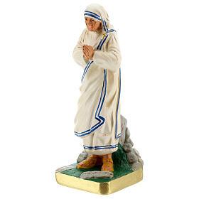 Mother Teresa hand painted plaster statue Arte Barsanti 20 cm s2