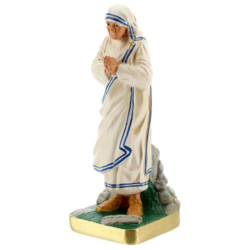 Mother Teresa hand painted plaster statue Arte Barsanti 20 cm 2