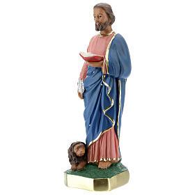 Saint Marc statue plâtre 30 cm peinte main Arte Barsanti s3