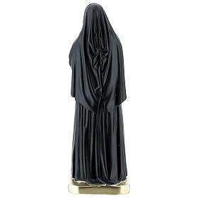 Sainte Bernadette Soubirous statue plâtre 30 cm Arte Barsanti s5