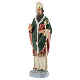St. Patrick Arte Barsanti plaster statue 30 cm