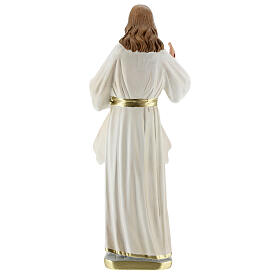 Merciful Jesus plaster statue 30 cm Arte Barsanti s5