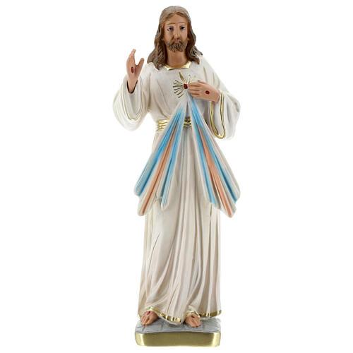 Jesús Misericordioso estatua yeso 30 cm Arte Barsanti 1