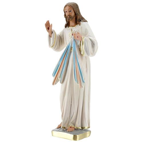 Jesús Misericordioso estatua yeso 30 cm Arte Barsanti 3