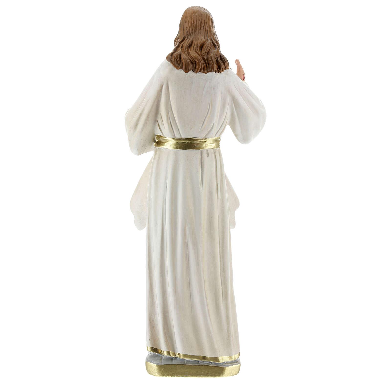 Christ Miséricordieux statue plâtre 30 cm Arte Barsanti 4