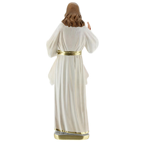 Christ Miséricordieux statue plâtre 30 cm Arte Barsanti 5