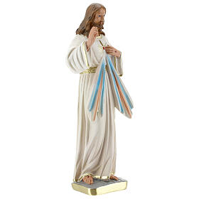 Gesù Misericordioso statua gesso 30 cm Arte Barsanti s4