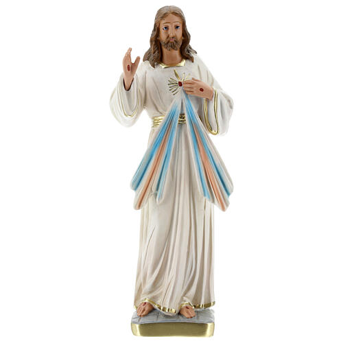 Gesù Misericordioso statua gesso 30 cm Arte Barsanti 1