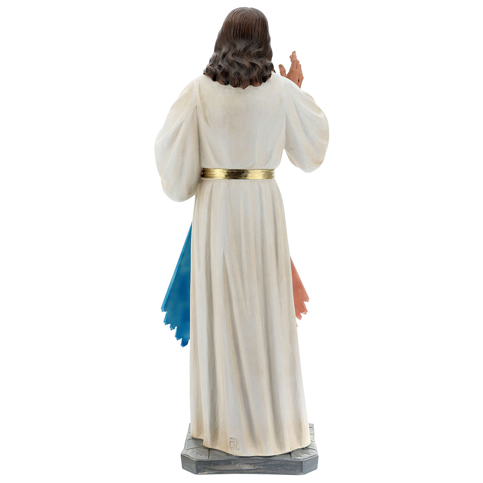 Statua Gesù Misericordioso resina 60 cm dipinta a mano Arte Barsanti 4