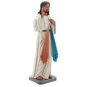 Statua Gesù Misericordioso resina 60 cm dipinta a mano Arte Barsanti s5
