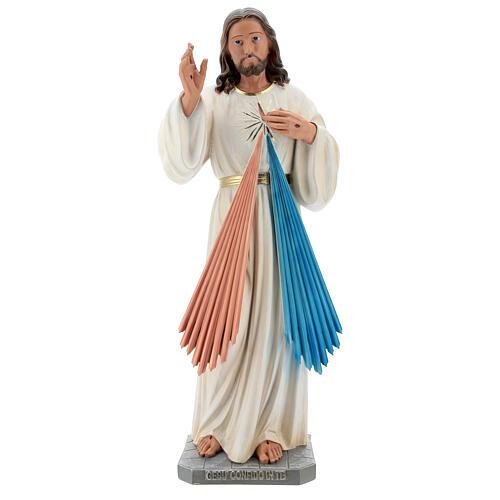 Divine Mercy statue, 60 cm in hand painted resin Arte Barsanti 1