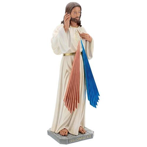 Christ Miséricordieux statue résine 80 cm peinte à la main Arte Barsanti 4