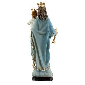 Marie Auxiliatrice Enfant Jésus statue résine 12 cm s4