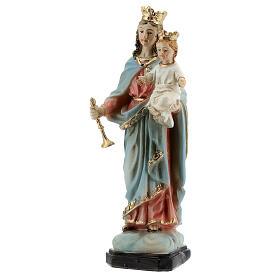 Maria Ausiliatrice Bambino statua resina 12 cm s2
