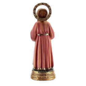 Santissima Maria bambina studio scritture statua resina 12,5 cm s4