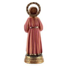 Young Virgin Mary statue while studying scripture resin 12.5 cm s4