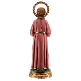 Marie Enfant qui étudie statue résine 30 cm s5