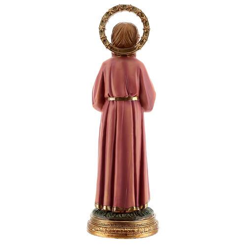 Marie Enfant qui étudie statue résine 30 cm 5