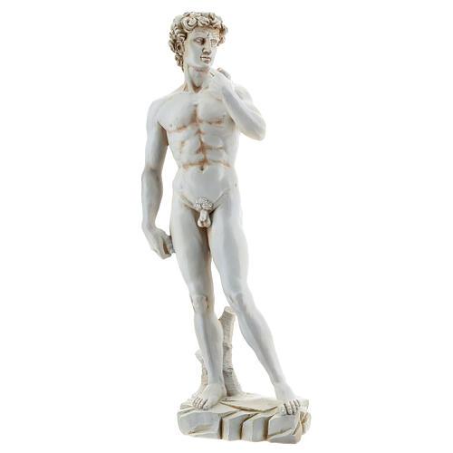 Michelangelo's David resin statue 31 3