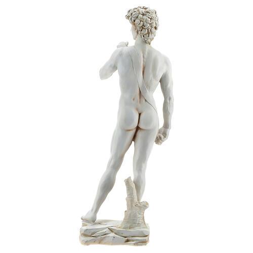 Michelangelo's David resin statue 31 5