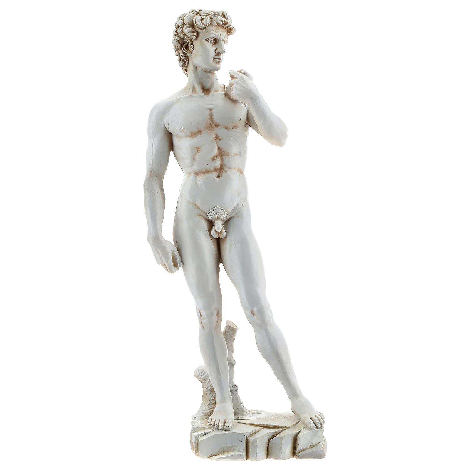 David Michelangelo riproduzione statua resina 31 cm 4