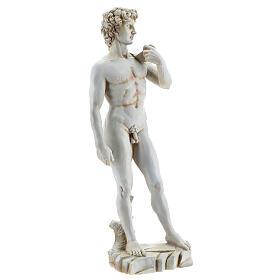 David Michelangelo riproduzione statua resina 31 cm s4