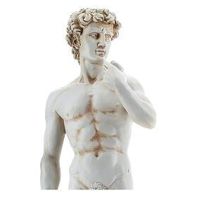 David Michelangelo reproduction statue in resin 31 cm s2