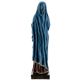 Statue Our Lady of Sorrows hands clasped resin 30 cm s5