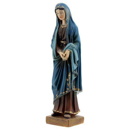 Statue Notre-Dame des Douleurs résine 12 cm