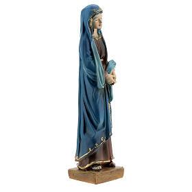 Statua Maria Addolorata resina 12 cm s3