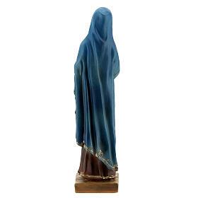 Statua Maria Addolorata resina 12 cm s4